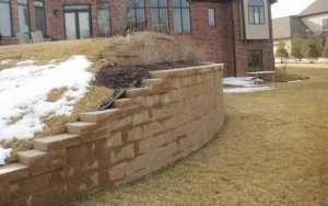 retaining wall in st charles mo