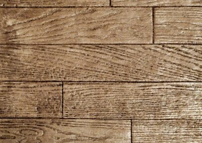 3 1/2″ Hardwood Plank Concrete Stamp Pattern Sample