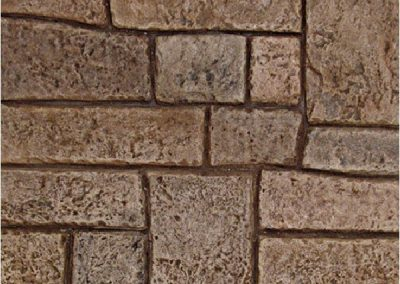 Appian Cobblestone stamp pattern