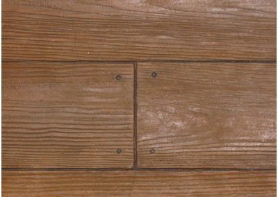 12″ Wood Plank Concrete Stamp pattern