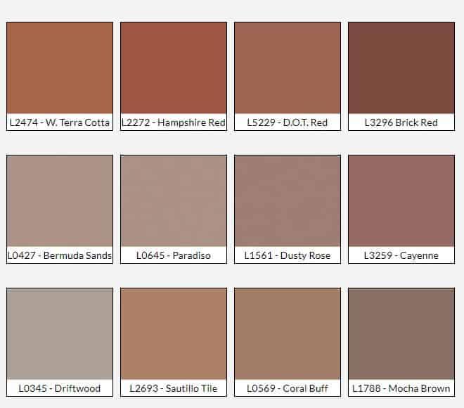 Color Charts Textures Shamrock Concrete