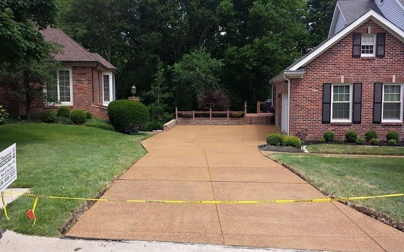 exposed aggregate concrete driveway (4)