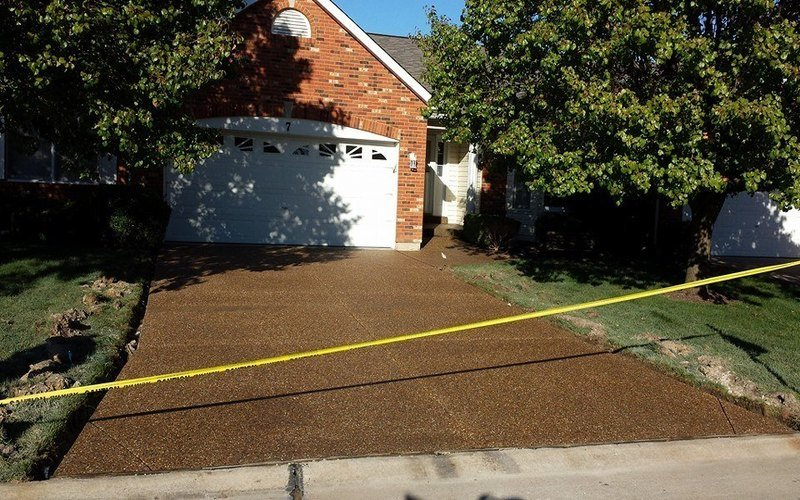 exposed aggregate concrete driveway (9)