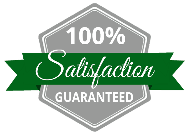 Shamrock Concretes Customer Satisfaction Guarantee Badge