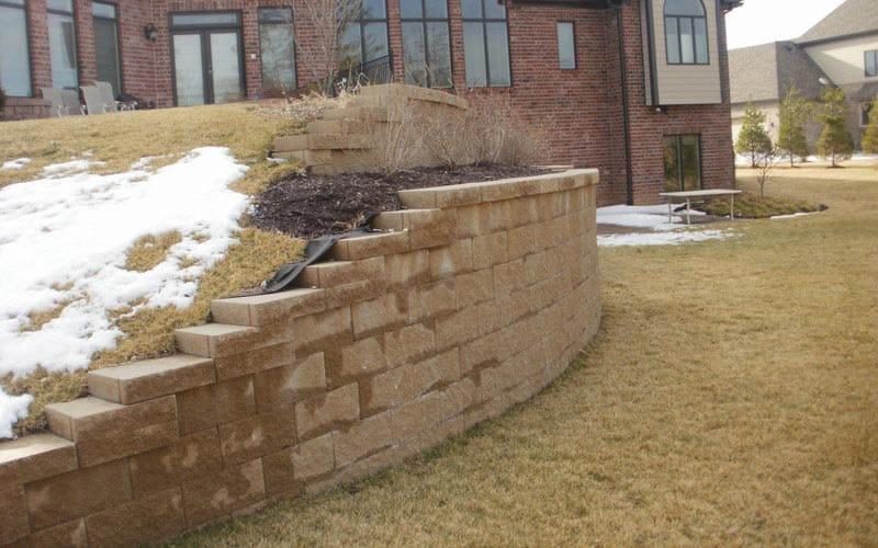 retaining walls (30)