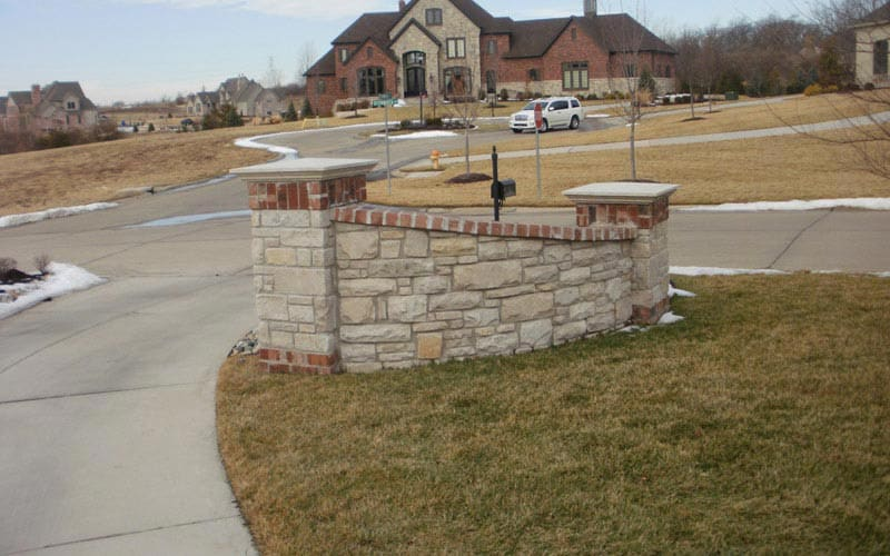 retaining walls (46)