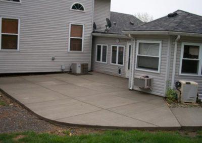 concrete patio chesterfield