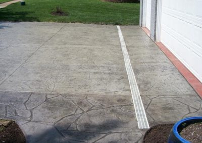 decorative stamped concrete drive st louis mo