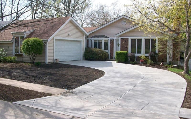 Traditional Concrete Driveways