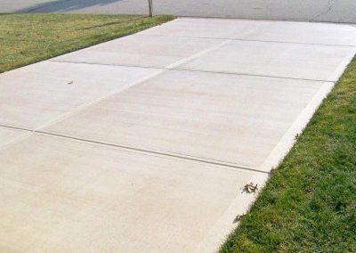 concrete driveway 10-2