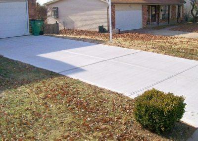 concrete driveway 14-6