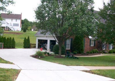 concrete driveway 16-5