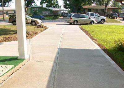 concrete driveway 17-6