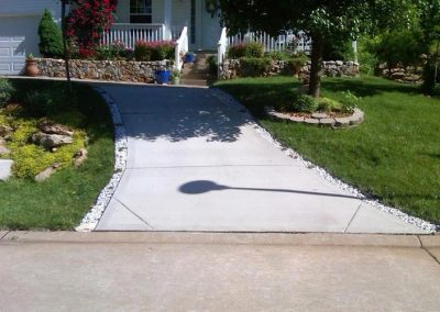 concrete driveway 19-1