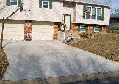concrete driveway 37-3