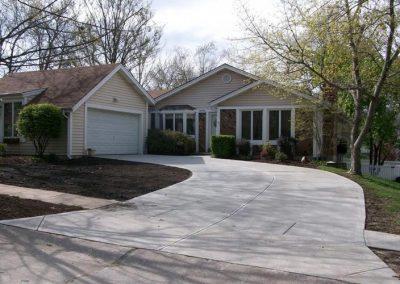 concrete driveway 43-3