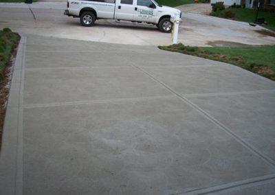 concrete driveway 62-1