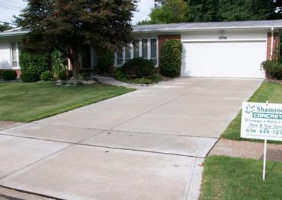 concrete driveway 74-2
