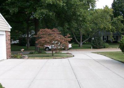 concrete driveway 83-1