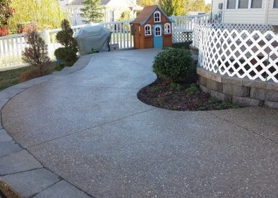 Exposed Aggregate Patio Projects