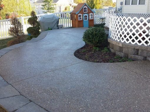 Exposed Aggregate Patios