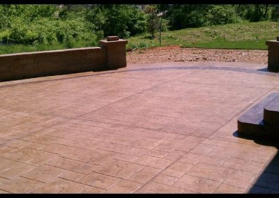 large stamped patio wentzville