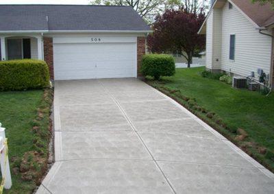 new concrete driveway 6-1