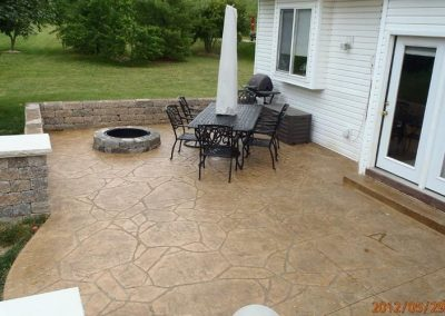 stamped concrete 63122