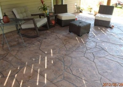 stamped patio carport 95 2